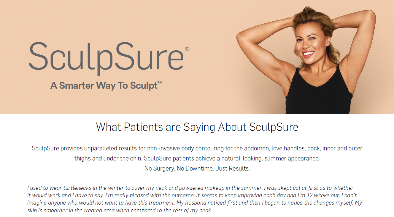 Sculpsure-Body Contouring-Permanent Fat Loss-Conroe Family Doctor a Smarter Way
